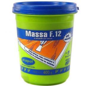 MASSA F12 400GR BRANCA